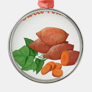 Cook a Sweet Potato Day - Appreciation Day Metal Ornament