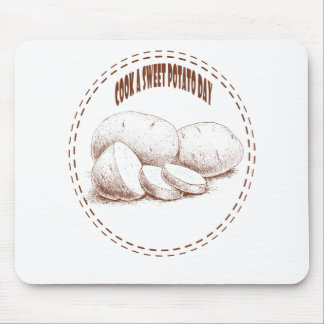 Cook a Sweet Potato Day - Appreciation Day Mouse Pad