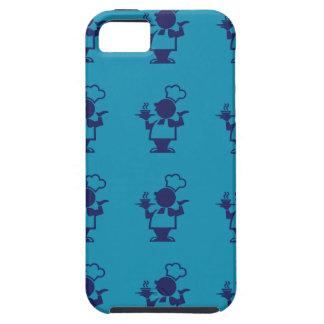 cook blue purple iPhone SE/5/5s case