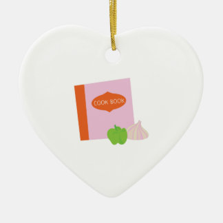 Cook Book Christmas Tree Ornaments