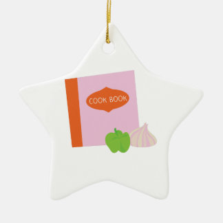 Cook Book Ornament