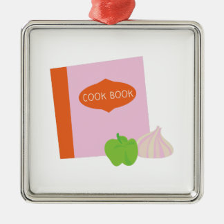 Cook Book Christmas Ornament