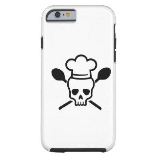 Cook chef skull iPhone 6 case