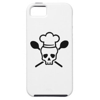 Cook chef skull iPhone SE/5/5s case