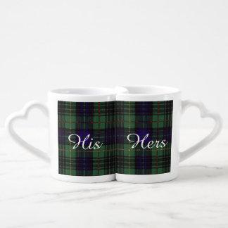 Cook clan Plaid Scottish kilt tartan Coffee Mug Set