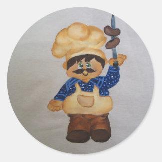 Cook Classic Round Sticker
