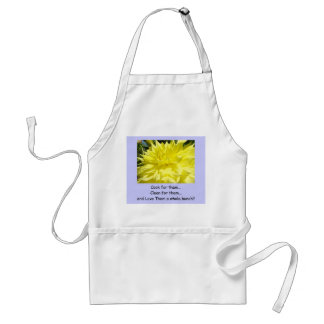 Cook for them Clean for them Love them a bunch Adult Apron