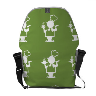 Cook green courier bags