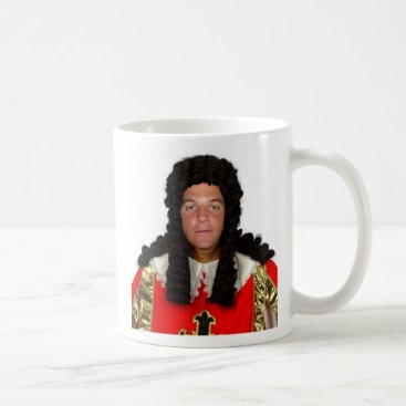 """jamesd711 Cook in a Wig """"34 Cent"""" Coffee Mug"""