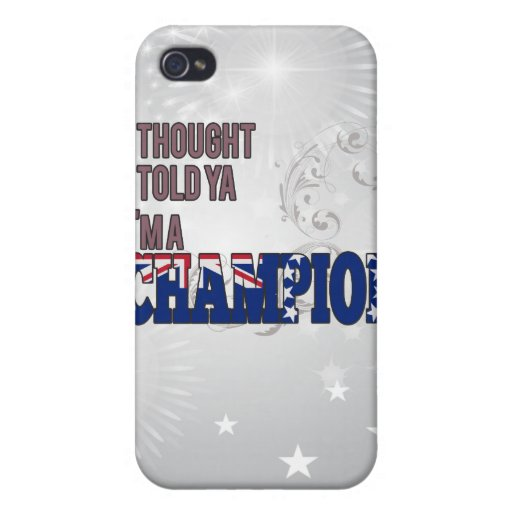 Cook Island and a Champion iPhone 4/4S Cover