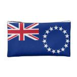 Cook Island Flag Cosmetic Bag