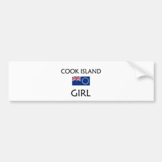 COOK ISLAND GIRL BUMPER STICKERS