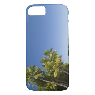 Cook Islands, Aitutaki. Polynesian canoe tour to iPhone 7 Case