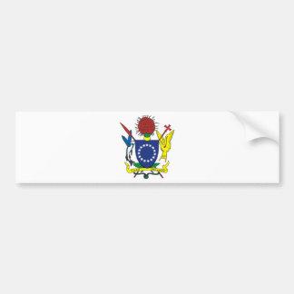Cook Islands Coat of arms CK Bumper Sticker