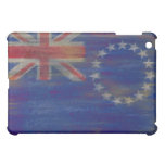 Cook Islands distressed flag Cover For The iPad Mini