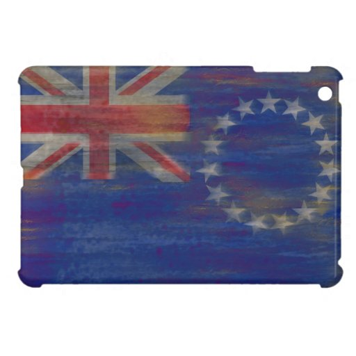 Cook Islands distressed flag iPad Mini Cases