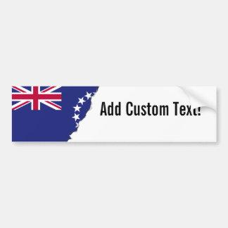 Cook Islands flag Bumper Sticker