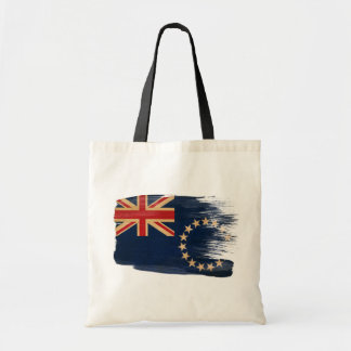 Cook Islands Flag Canvas Bags