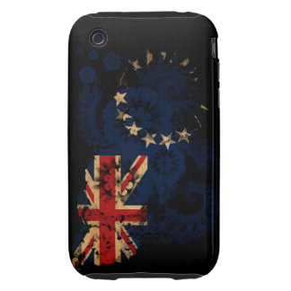 Cook Islands Flag Tough iPhone 3 Covers