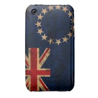 Cook Islands Flag iPhone 3 Case-Mate Case