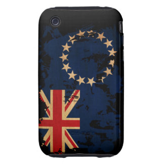Cook Islands Flag iPhone 3 Tough Cases