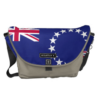 Cook Islands flag Courier Bag