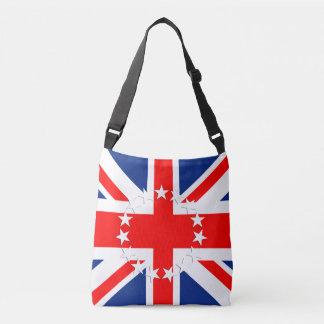 Cook Islands Flag Crossbody Bag