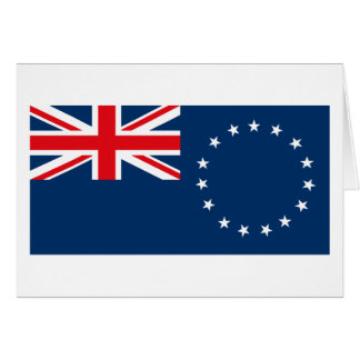 Cook Islands Flag Greeting Card