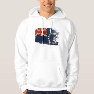 Cook Islands Flag Hoodie
