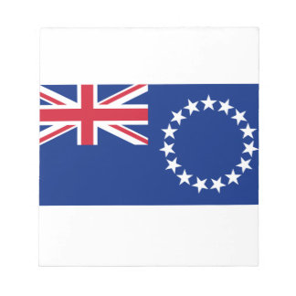 Cook Islands Flag Note Pad