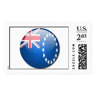 cook islands flag postage