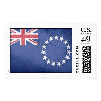 COOK ISLANDS FLAG STAMP