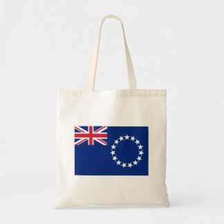 Cook Islands Flag Tote Bag