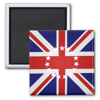 Cook Islands High quality Flag 2 Inch Square Magnet