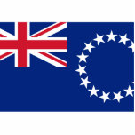 Cook Islands, New Zealand flag Cut Out