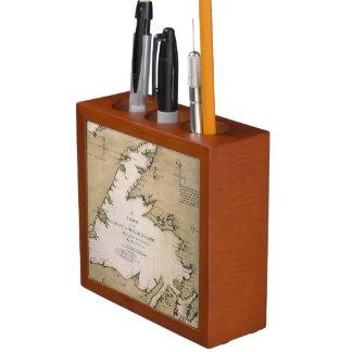 COOK: NEWFOUNDLAND, 1763 Pencil/Pen HOLDER