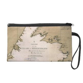 COOK: NEWFOUNDLAND, 1763 WRISTLET PURSE