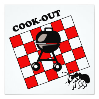 Cook-out / Bar-B-Q Invites