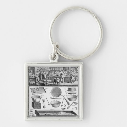 Cook, Pastrycook, Caterer Keychain