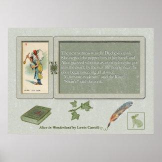 Cook Print de duquesa Posters