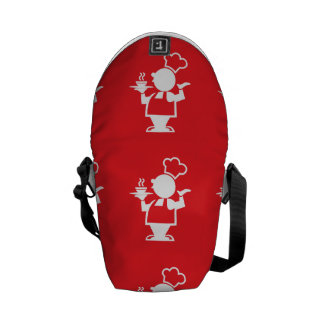 Cook red courier bag