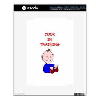 COOK DECAL FOR NOOK