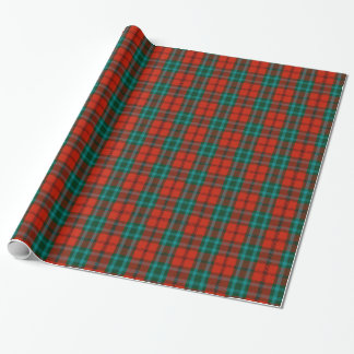 Cook Tartan Wrapping Paper