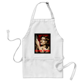 Cook this! adult apron