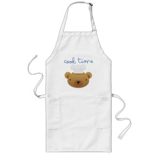 """Cook Time"" apron"