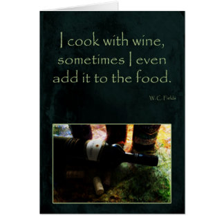 Cook with Wine Card