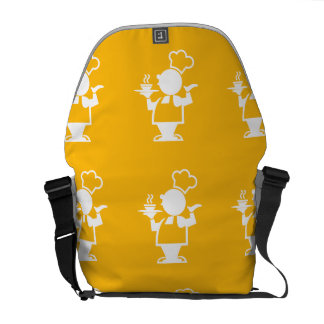 Cook yellow messenger bags