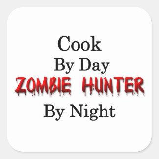 Cook/Zombie Hunter Square Sticker