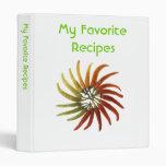Cookbook 3 Ring Binders