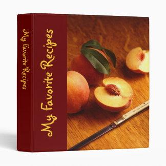 Cookbook Vinyl Binders